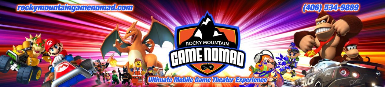 Rocky Mountain Game Nomad – Video Game Truck Birthday Parties in Billings & South Central Montana
